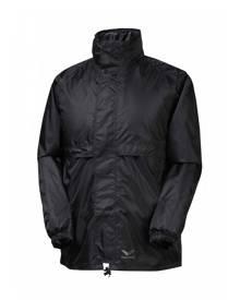 Rainbird Stowaway Waterproof Packable Rain Jacket - Black