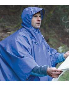 Sea To Summit Nylon Poncho & Tarp - Blue
