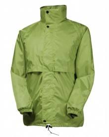 Rainbird Kids Stowaway Waterproof Packable Rain Jacket - Tahitian Lime