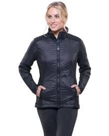 KUHL Firefly Womens Insulated Jacket - Raven