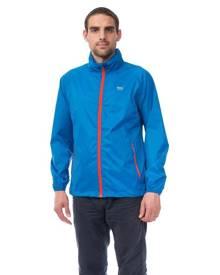 Mac In A Sac Origin Unisex Waterproof Packable Rain Jacket - Electric Blue [Size: S]