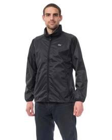 Mac In A Sac Origin Unisex Waterproof Packable Rain Jacket - Jet Black