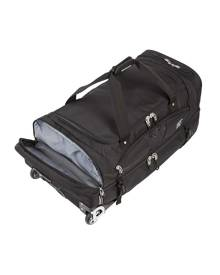 Explore Planet Earth Madrid 80L Adventure Roller Pack - Black