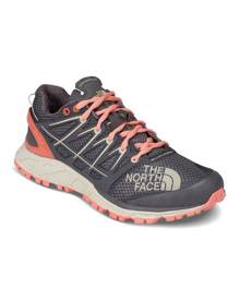 The North Face Womens Ultra Endurance II Trail Running Shoes - Blackened Pearl/Desert Flower Orange
