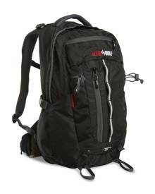 Black Wolf Tempo 30L Air Back Technical Daypack - Black