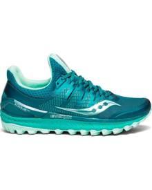 Saucony Xodus ISO 3 Womens Trail Running Shoes - Green/Aqua