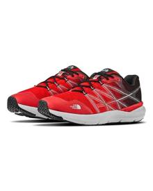 The North Face Mens Ultra Cardiac II Trail Running Shoes - Fieryrd/Tnfblk