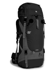 Explore Planet Earth Carina 65L Hiking Backpack - Black