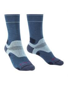 Bridgedale Hike Midweight Performance Womens Socks - Bluesky
