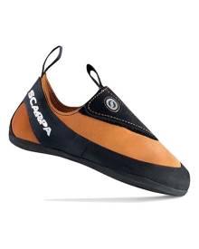 Scarpa Instinct Junior Kids Climbing Shoes - Lt Ora-Blk