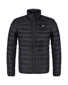Mac In A Sac Polar Mens Reversible Down Jacket - Black-Charcoal