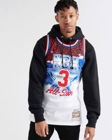 Mitchell And Ness Mens White Clothing / Tops L