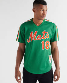 Mitchell And Ness Mens Green Clothing / Tops XL