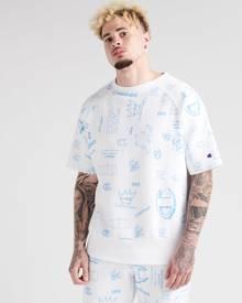 Champion Reverse Weave All-Over Print Sweatshirt