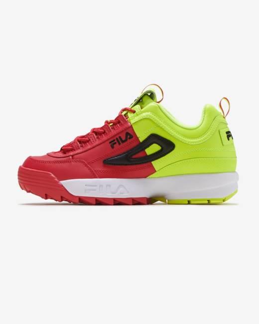 Athletic Shoes FILA DISRUPTOR II 2 WHITEPEACOAT BLUERED
