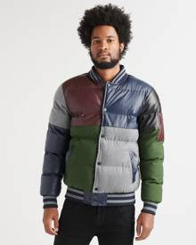 Reason Puffer Bomber Jacket