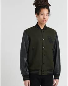 G-Star Bolt Leather Bomber Jacket