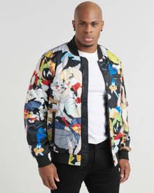 Members Only Looney Tunes Bomber Jacket