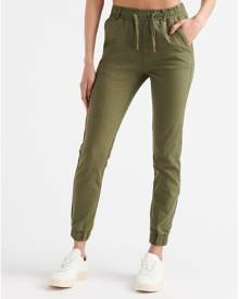 Essentials Womens Dark Green Clothing / Bottoms M