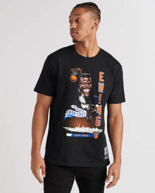 Mitchell And Ness Mens Black Clothing / Tops L