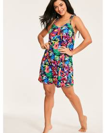 Figleaves Hawaii Floral Jersey Cami Dress