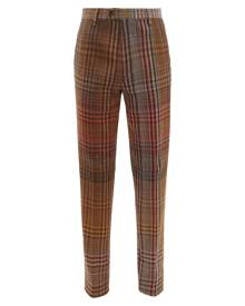 Missoni - Checked Wool-blend Trousers - Mens - Multi