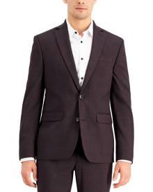 Inc International Concepts Inc Men's Slim-Fit Purple Plaid Suit Jacket, Created for Macy's