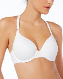 Warner's Cloud 9 Lace-Trim T-Back Bra RF2691A