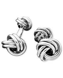 Macy's Men's Sterling Silver Love Knot Cuff Links