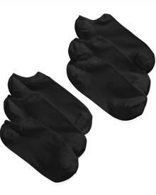 Hue Women's Microfiber Liner Socks 6 Pack