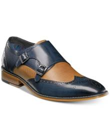 Stacy Adams Men's Lavine Double Monk Strap Loafers Men's Shoes