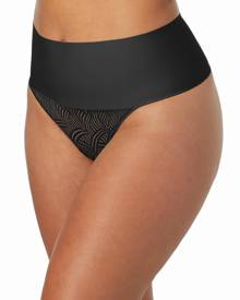 Maidenform Tame Your Tummy Lace Thong DM0049