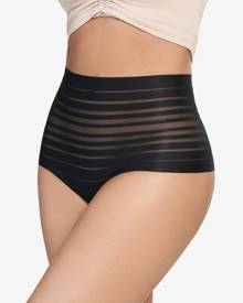 c90890526314 Leonisa Lace Stripe High-Waisted Cheeky Hipster Panty 012890