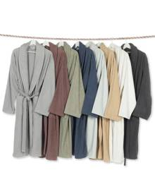 Linum Home Unisex Herringbone Weave Bath Robe Bedding