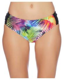 Next Spectrum Palm Chopra Midrise Full Bikini Bottom Color: Multi Size: XL