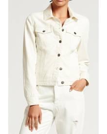 Bohemian Traders White Denim Jacket