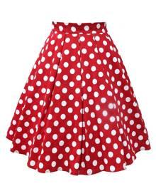 DressLily Polka Dot A Line Vintage Skirt