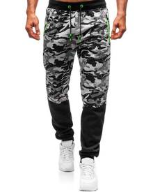 Rosegal Camo Print Pocket Drawstring Jogger Pants