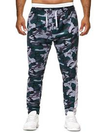 Rosegal Camo Printed Drawstring Casual Pants