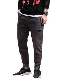 Rosegal Jogging Drawstring Tapered Pants