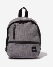 Lost - Personalised Mini Me Transit Backpack - Grey crosshatch