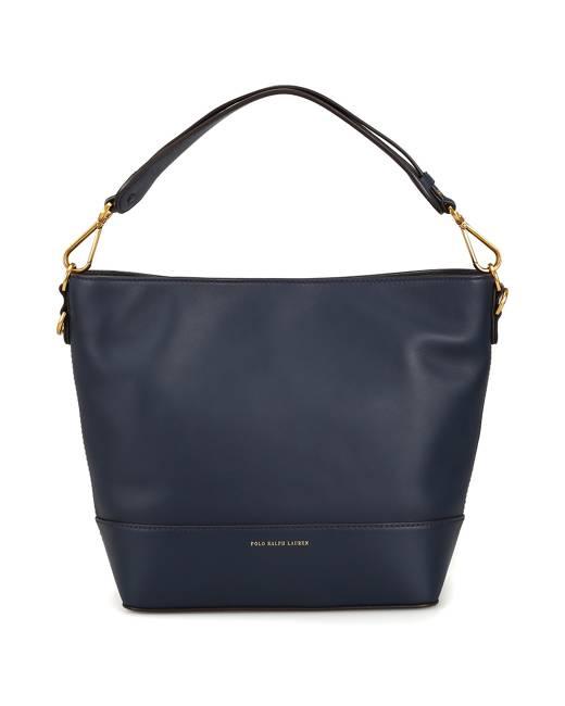 05ddf6aa8a Hobo S Dark Blue Leather Tote Bag
