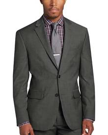 Awearness Kenneth Cole Gray Slim Fit Suit Separates Coat