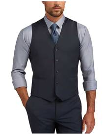 dd52484f Awearness Kenneth Cole AWEAR-TECH Blue Extreme Slim Fit Suit Separates Vest