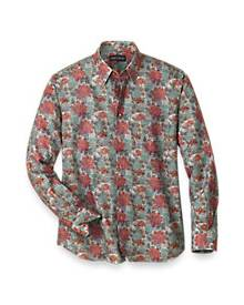 Easy Care Cotton Blend Patchwork Casual Shirt