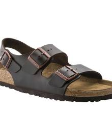 Birkenstock Milano Amalfi Leather with Soft Footbed