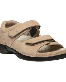 Women's Propet Pedic Walker, Size: 8.5 D, Dusty Taupe Nubuck