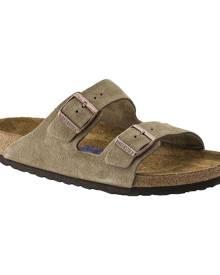 Birkenstock Arizona Suede with Soft Footbed