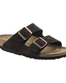 Birkenstock Arizona Suede Sandal, Size: 35 R, Mocha Suede