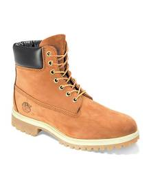 "Men's Timberland Classic 6"" Premium Boot, Size: 8 M, Rust Nubuck Leather"